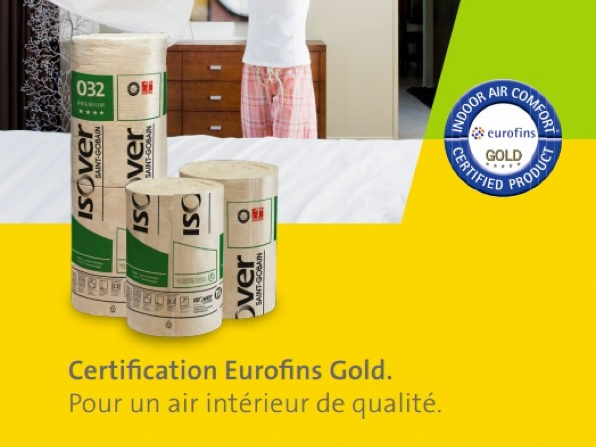 certification eurofins gold pour un air int rieur de qualit. Black Bedroom Furniture Sets. Home Design Ideas